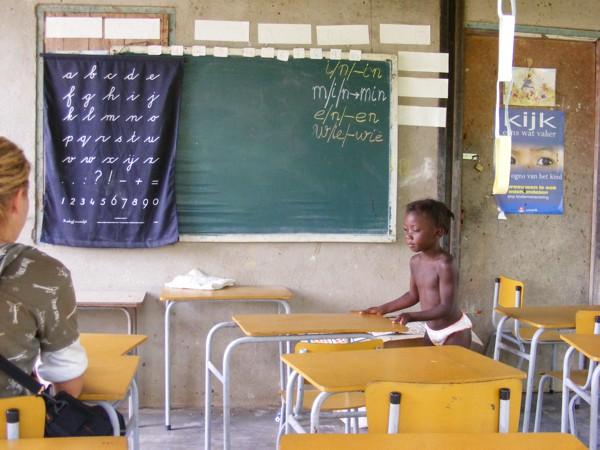 Isadou Suriname 050 schooltje