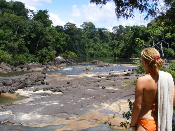 Isadou Suriname 062 indiaan Mirre