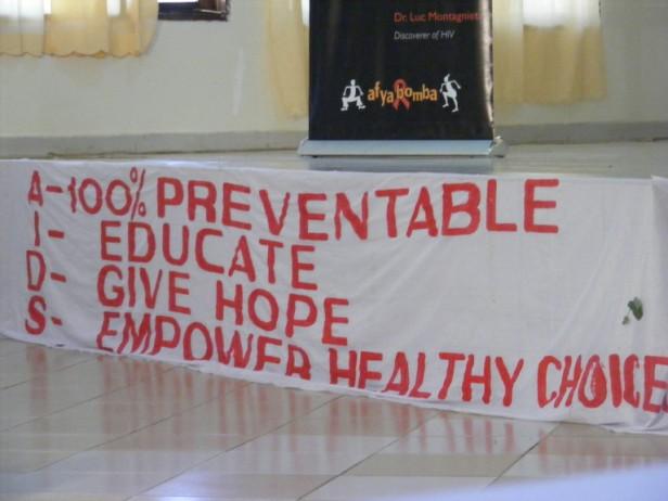 aids preventie Mbeya, Tanzania