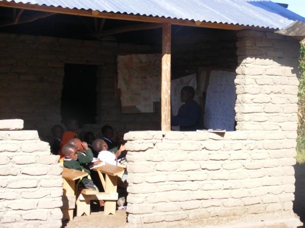 schooltje in Mbeya, Tanzania