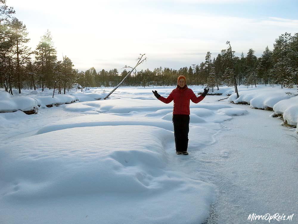 Fins Lapland ijsmeer