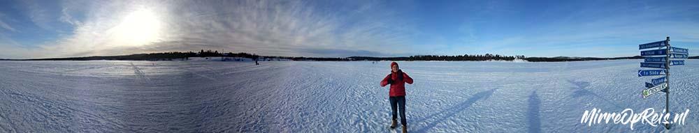 Fins Lapland, Inari ijsmeer 051