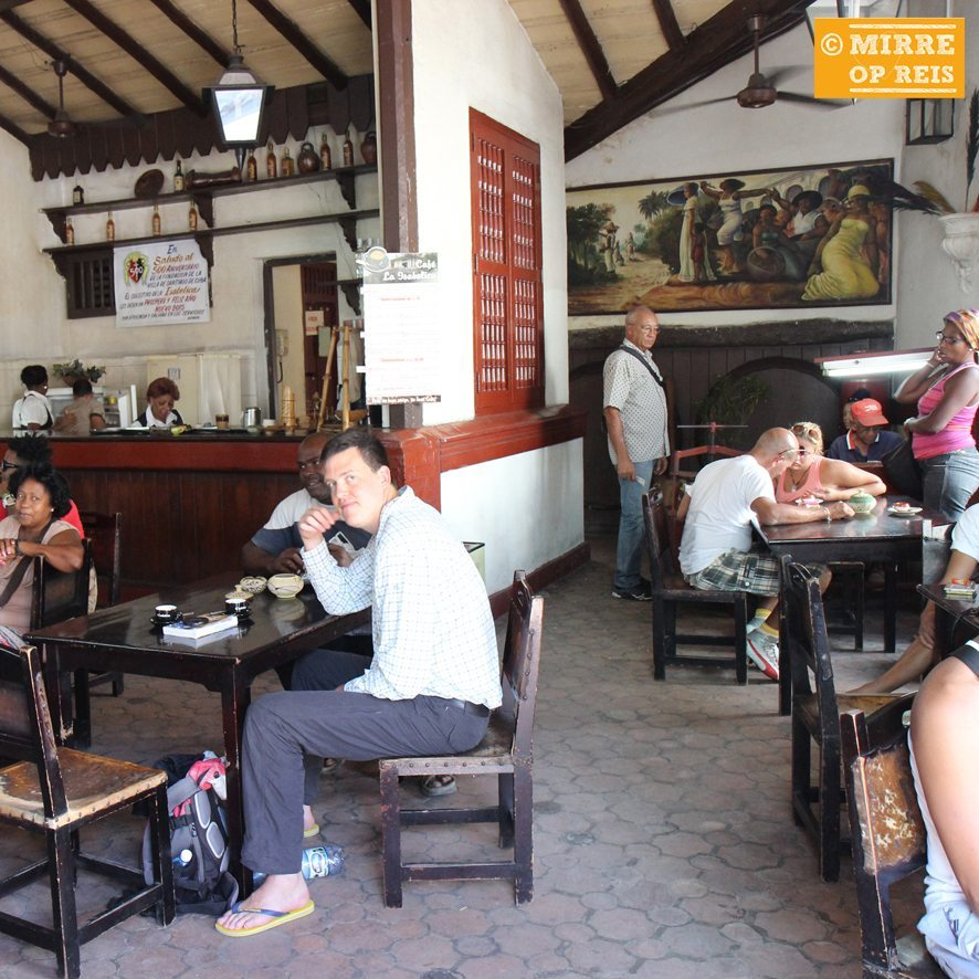 Cuba blog: Santiago de Cuba café