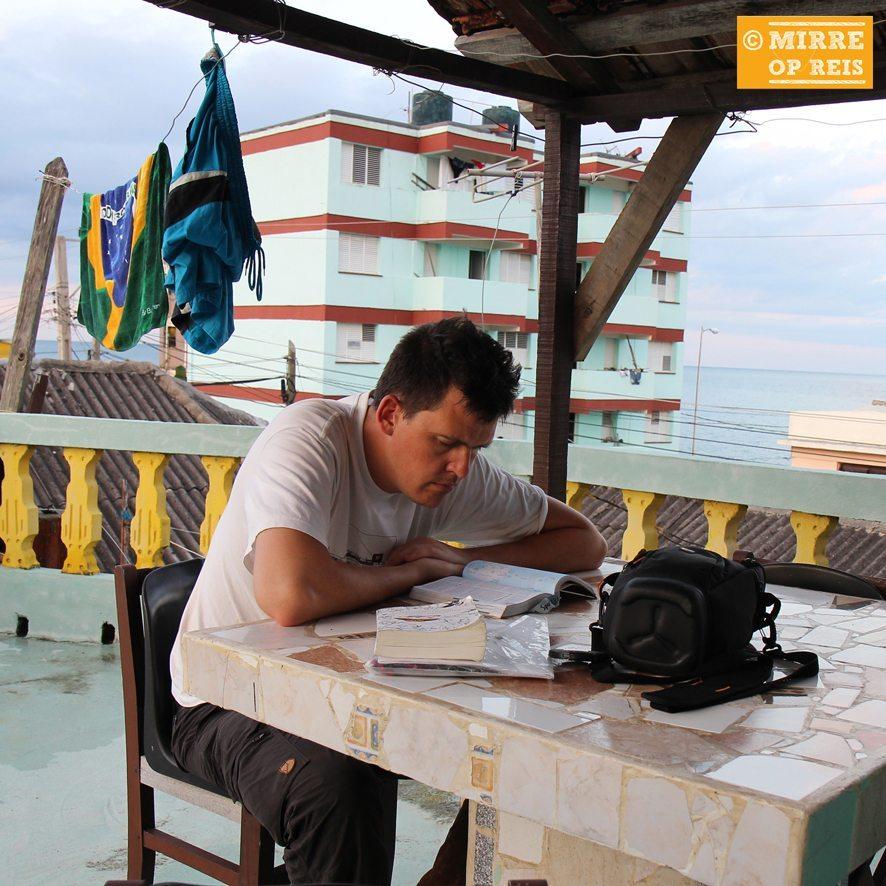 Cuba blog: Baracoa Steven boekje