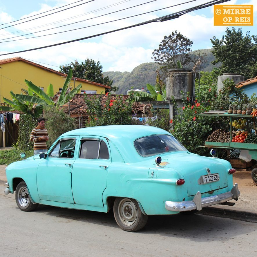 Cuba blog: Auto Vinales