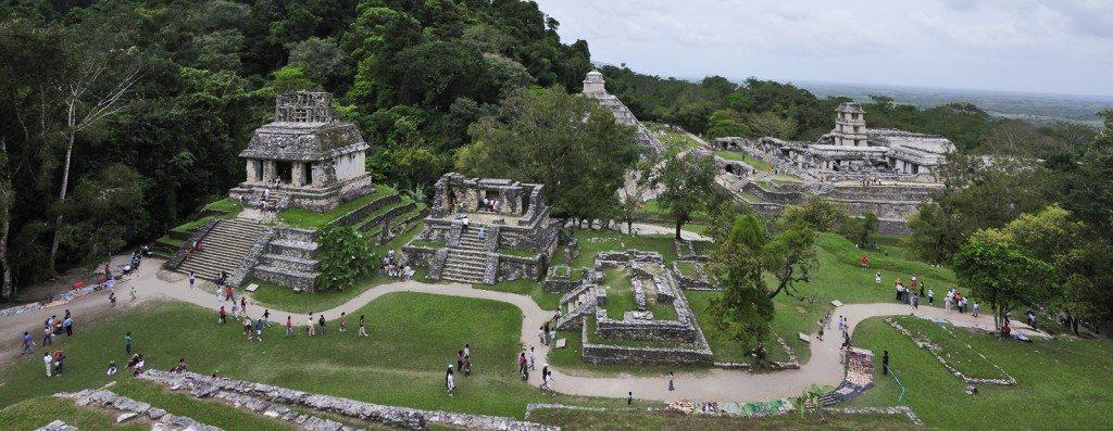 tempels palenque mexico