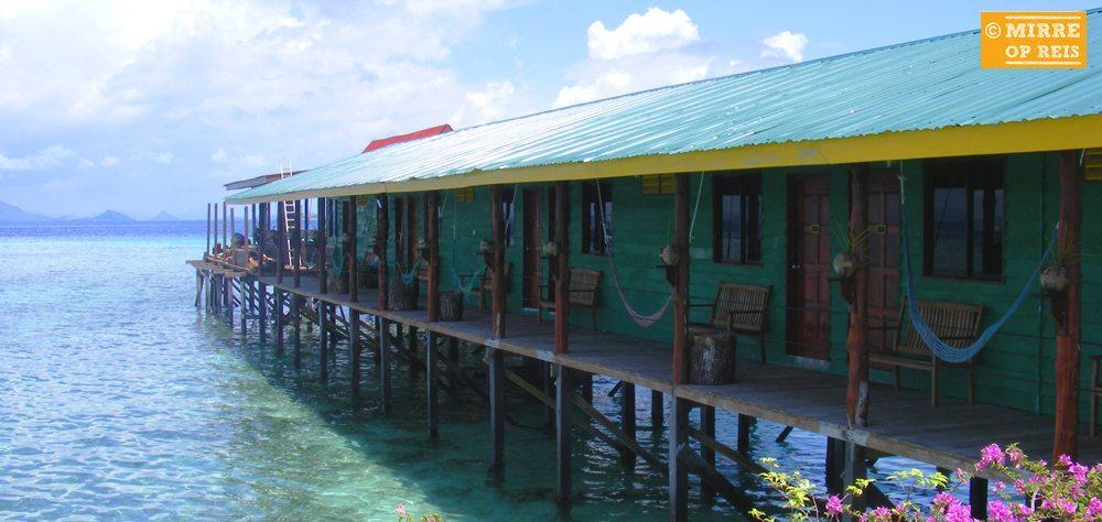 Borneo bezienswaardigheden: Sipadan Mabul Uncle Chan