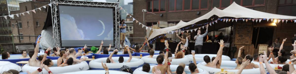 Hot Tub Cinema Londen