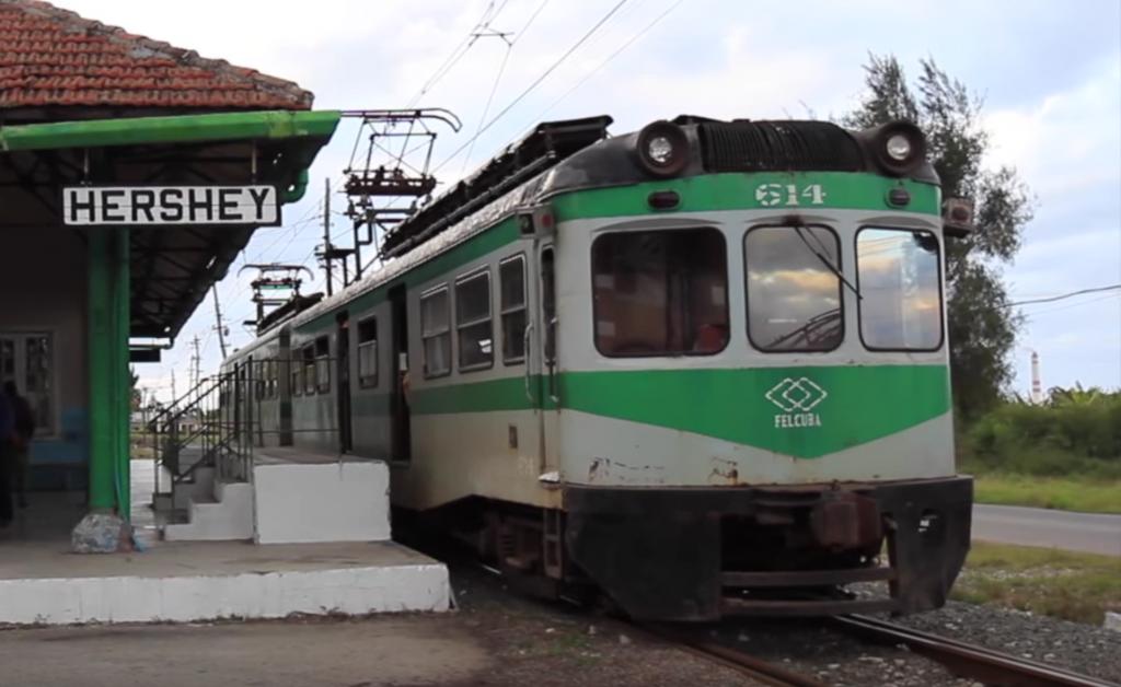 Cubaanse trein Hershey
