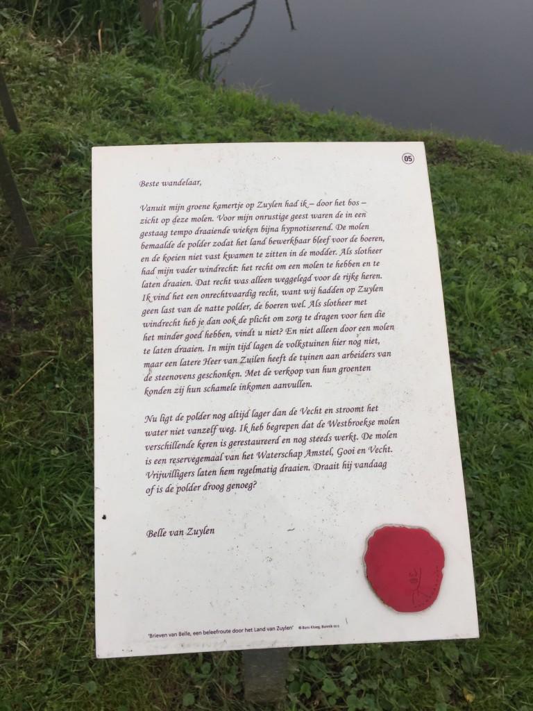 Fietsroute Utrecht: Brieven van Belle leiden je rond door het landschap