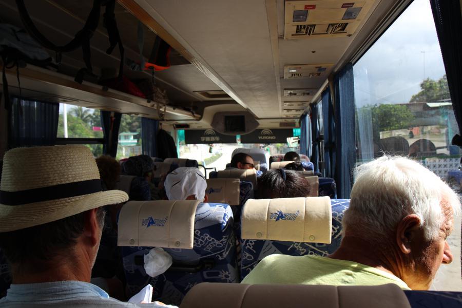 Bus Cuba - tips vakantie Cuba