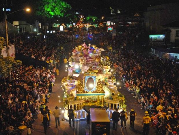 Festival de la luz - optocht