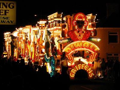 Festival de la luz - vrachtwagen