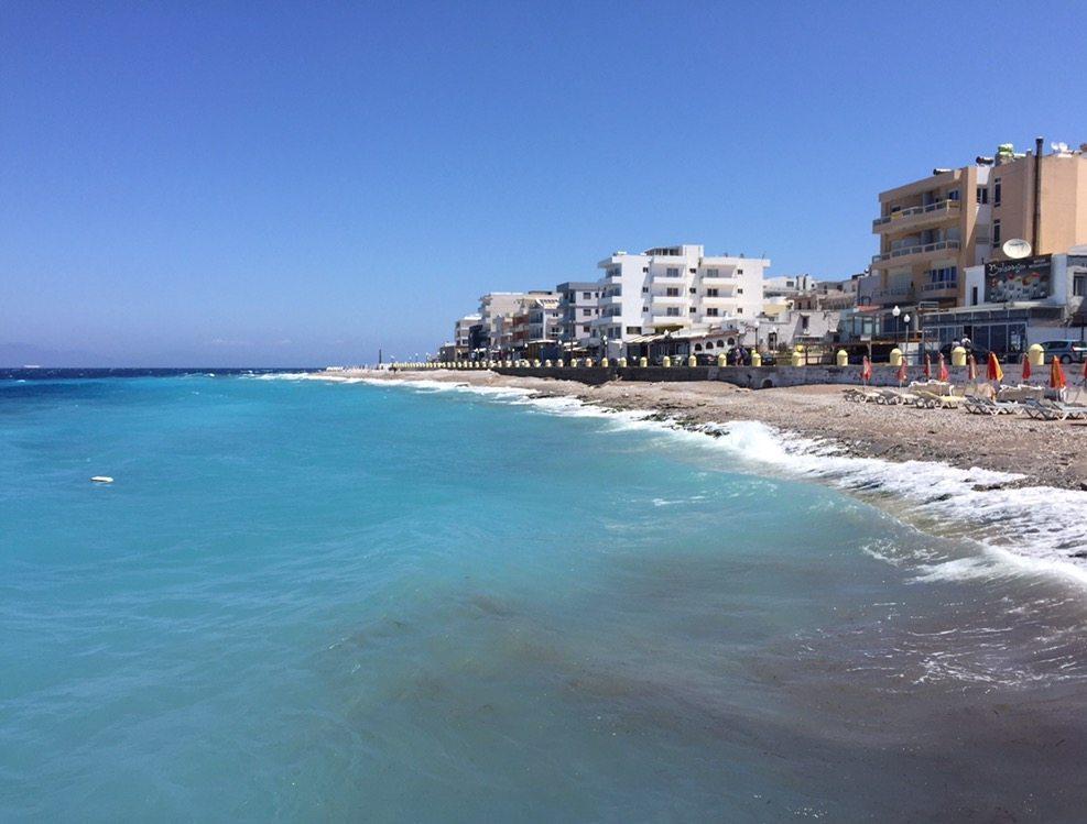 Strand van Rhodos