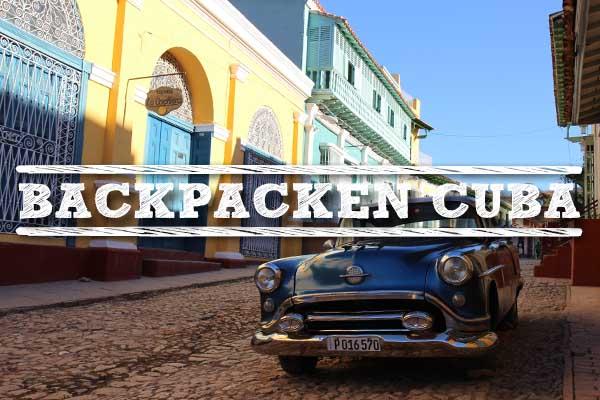Backpacken Cuba-uitgelicht