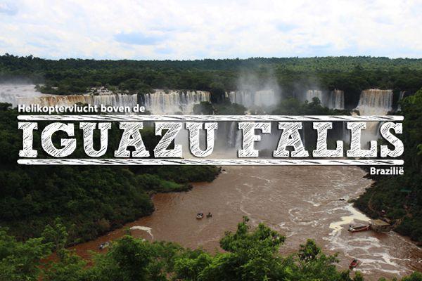 Iguazu falls-uitgelicht