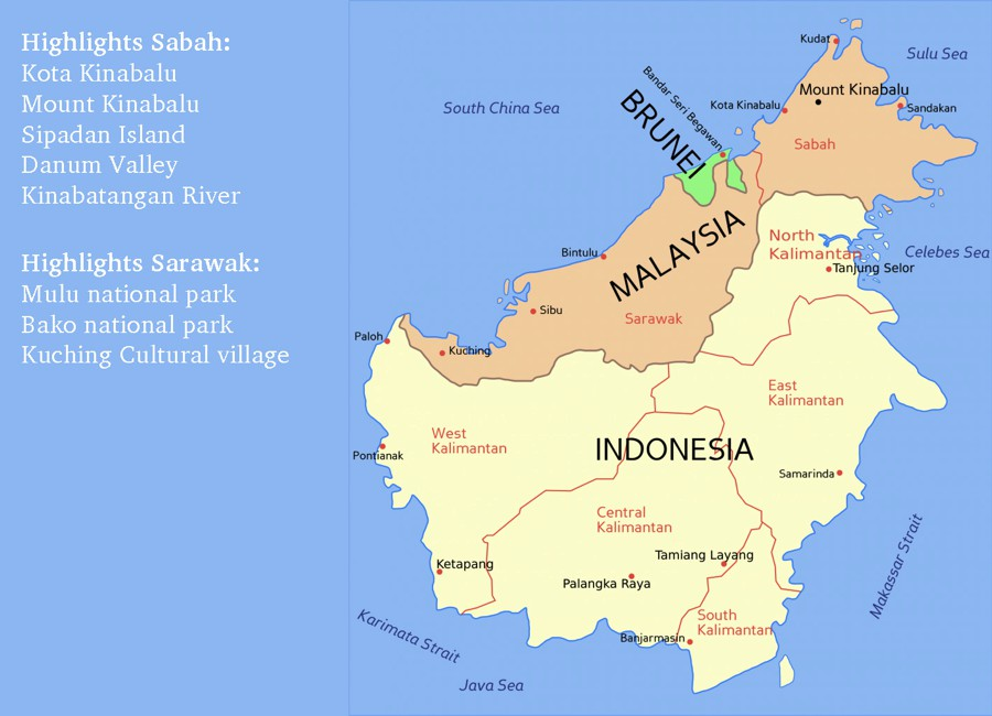 borneo-map-highlights