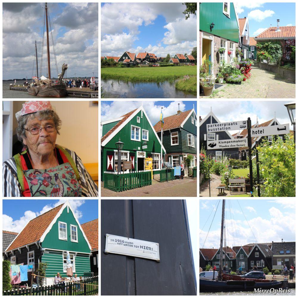 Marken-fietsroute Volendam mirreopreis