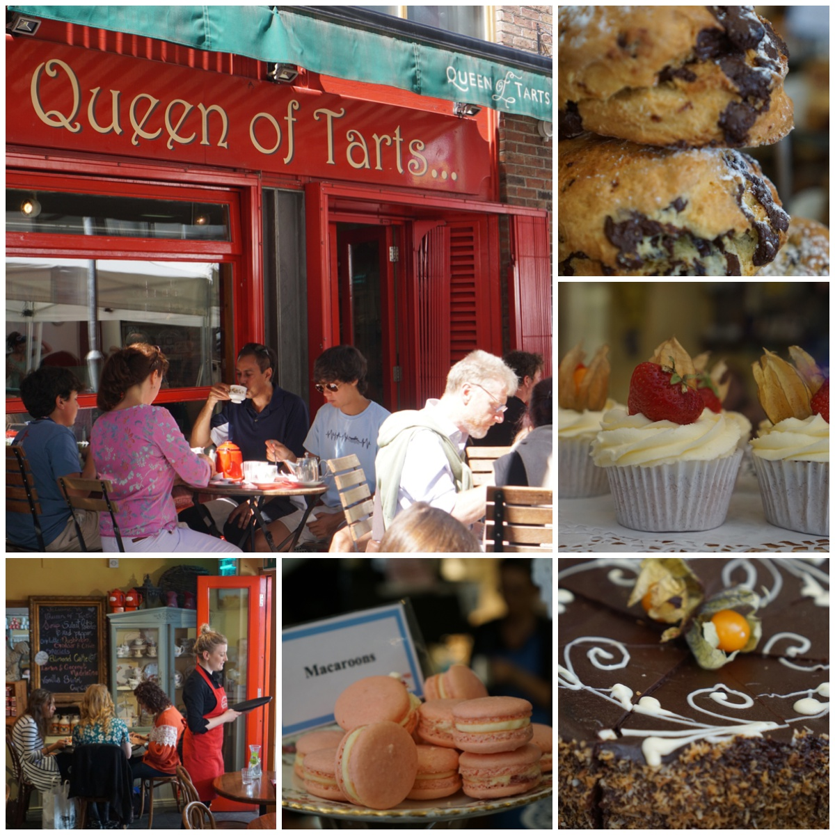 Dublin Queen of tarts, Dublin