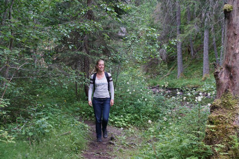 Wandelen Zweden Styggforsen 006