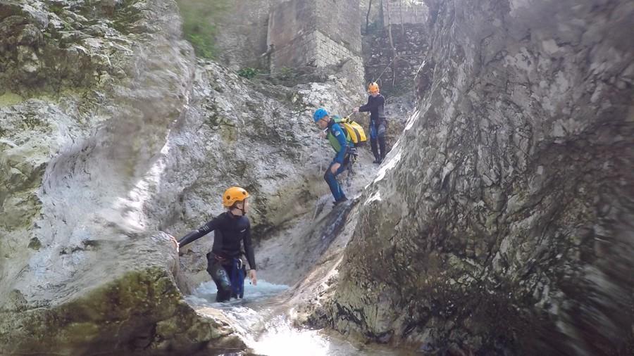 Soca canyoning 002