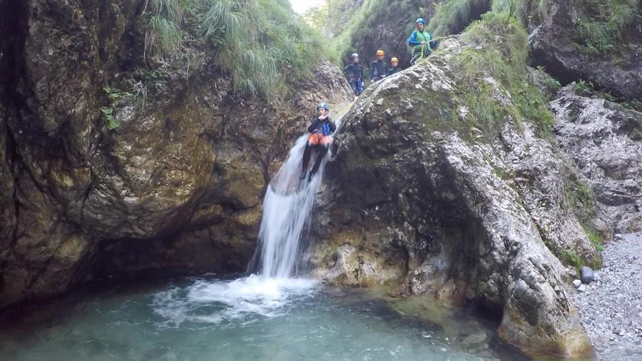 Canyoning Slovenie 003