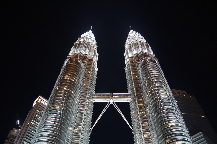 Petrona twin towers Kuala Lumpur