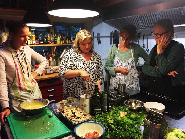 kookworkshop bij Country Home Cooking
