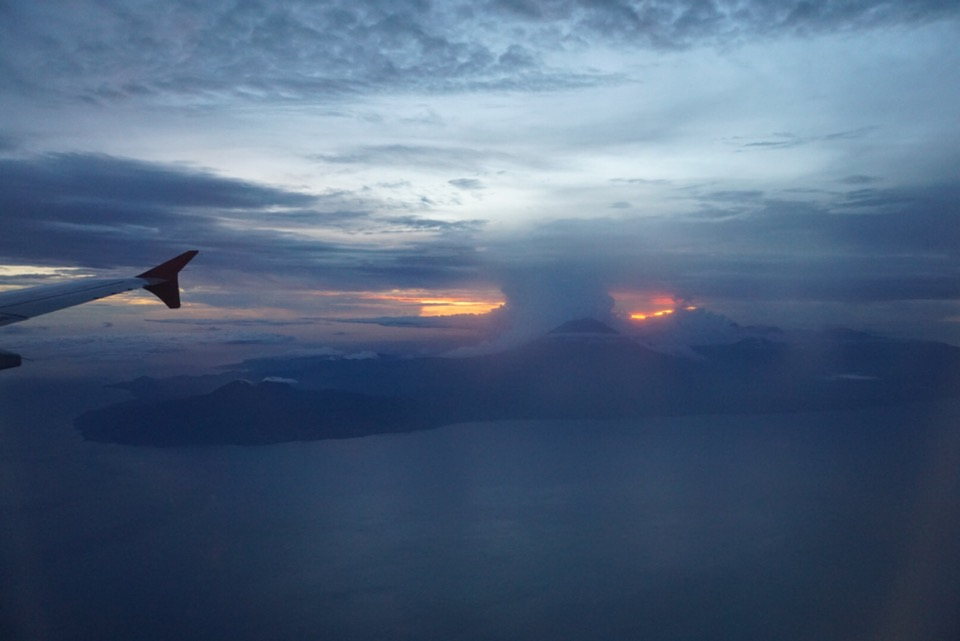 Bali zonsondergang