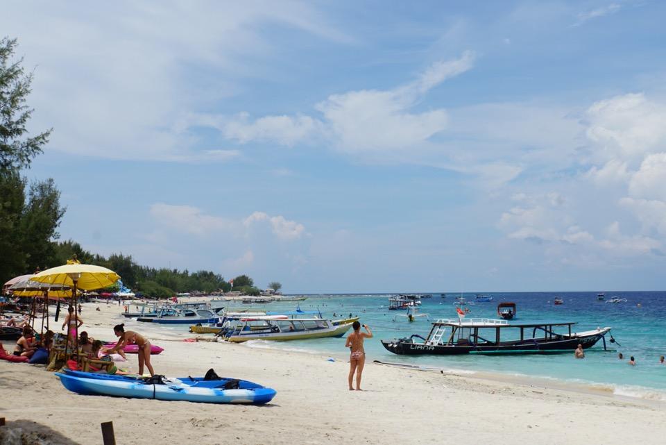 Strand Gili Trawangan