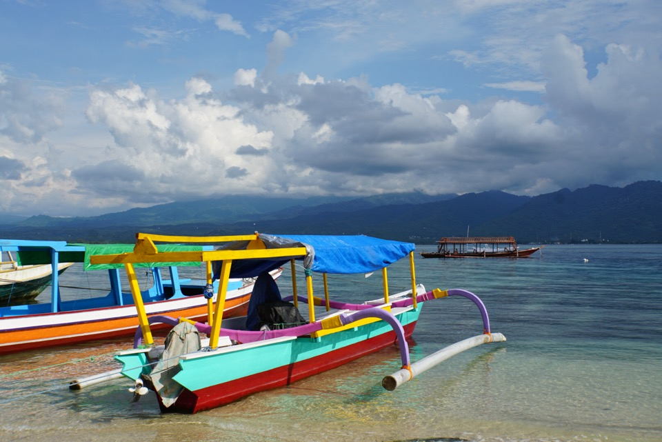 Boot Gili Air