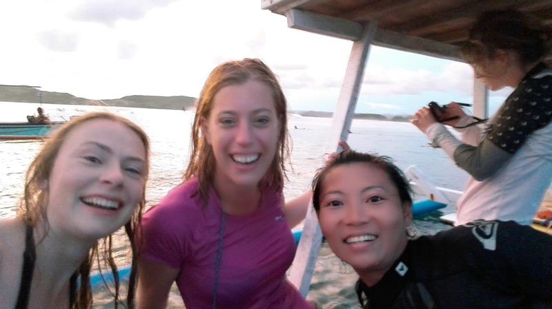 Surfen gerupuk lombok