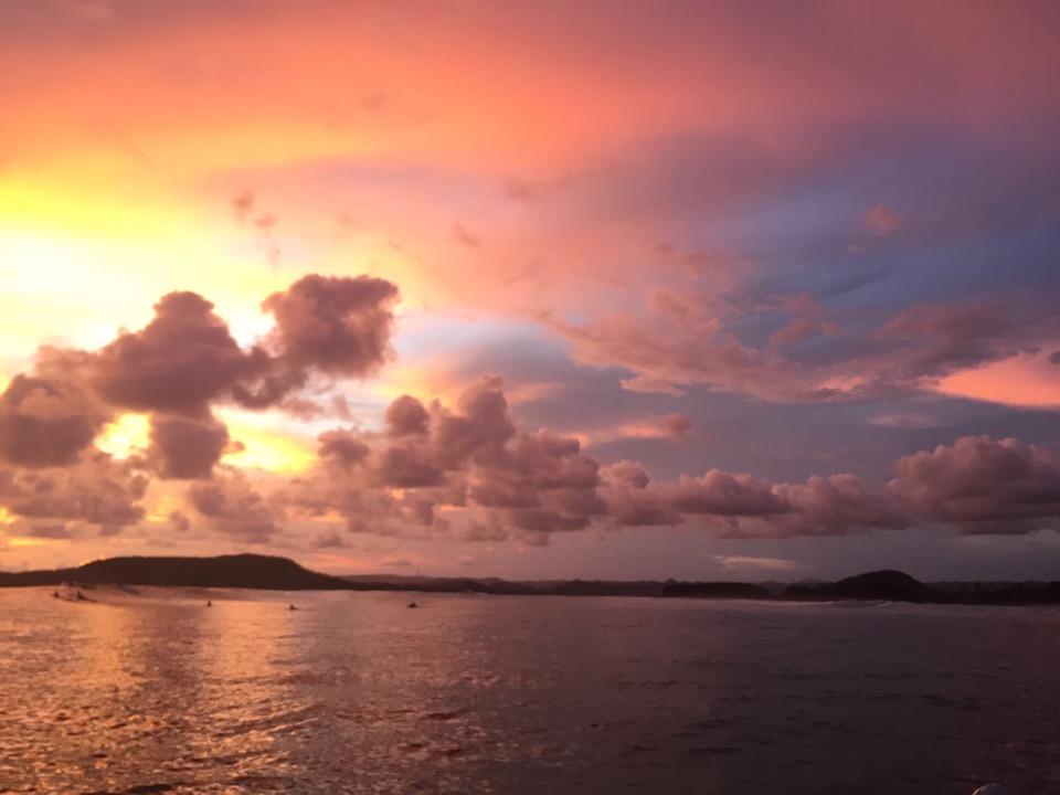 Zonsondergang gerupuk lombok