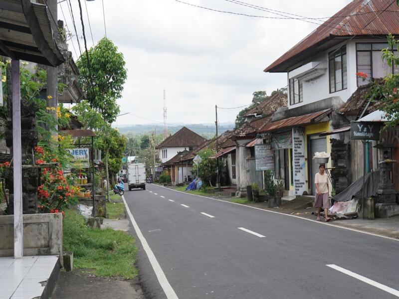 De straten van Ubud