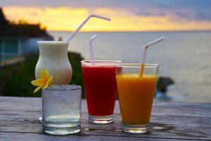 Nusa Lembongan tips. Zonsondergang cocktails