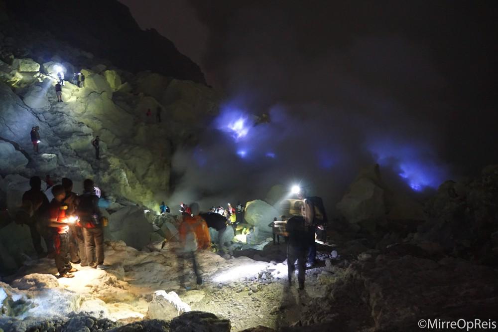 Ijen vulkaan Java Indonesie 009