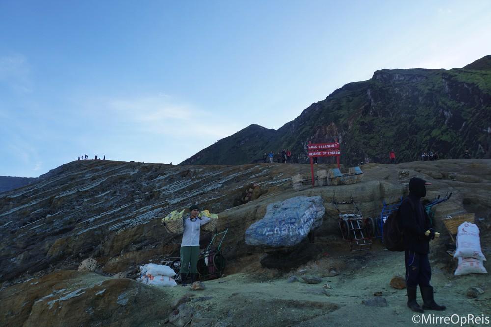 Ijen vulkaan Java Indonesie 050