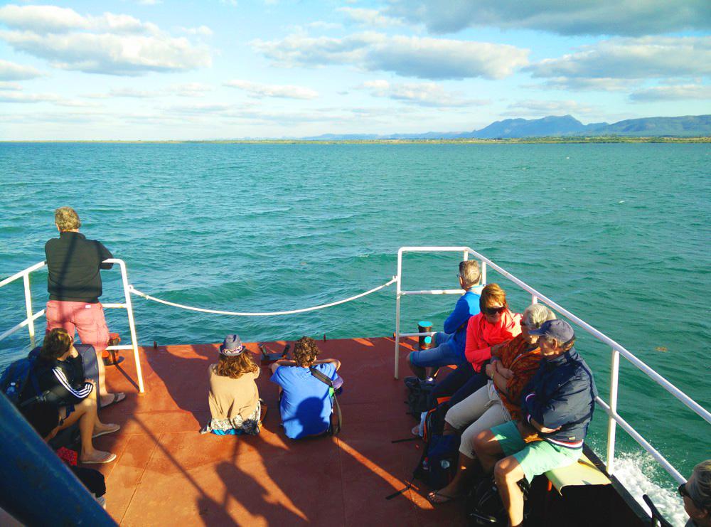 De boot naar Cayo Levisa, Cuba