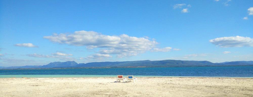 Paradijselijk strand op Cayo Levisa, Cuba