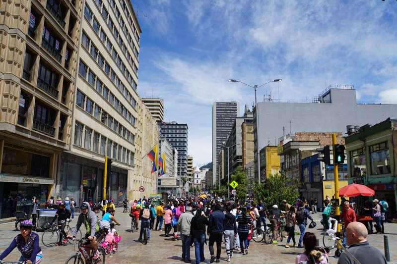 Shoppen in Bogota