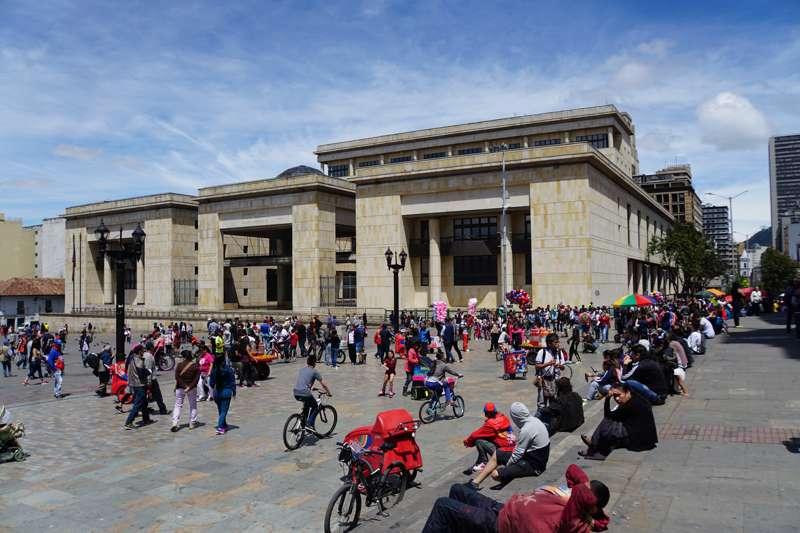 Plaza Bolivar in Bogota