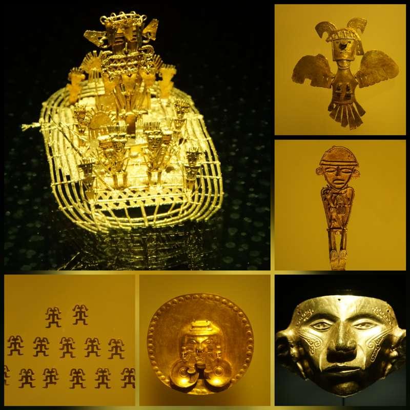 Goudmuseum in Bogota