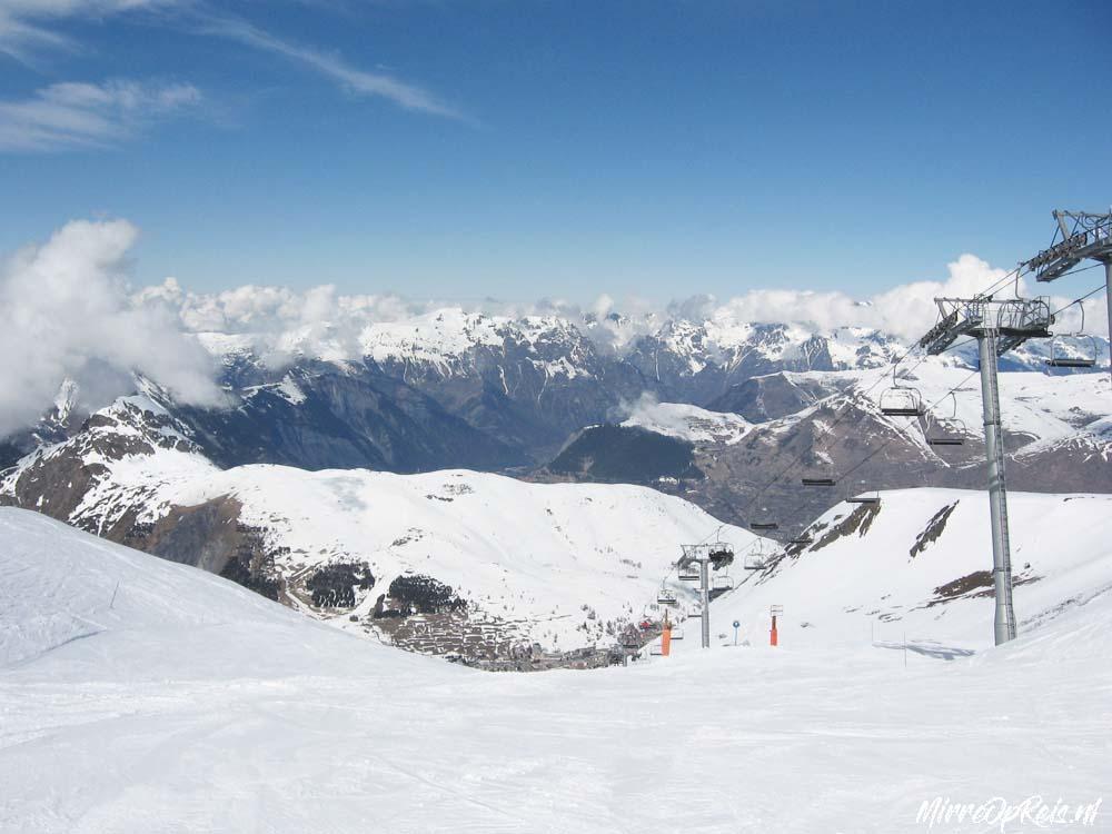 Skiegebied Les 3 vallees