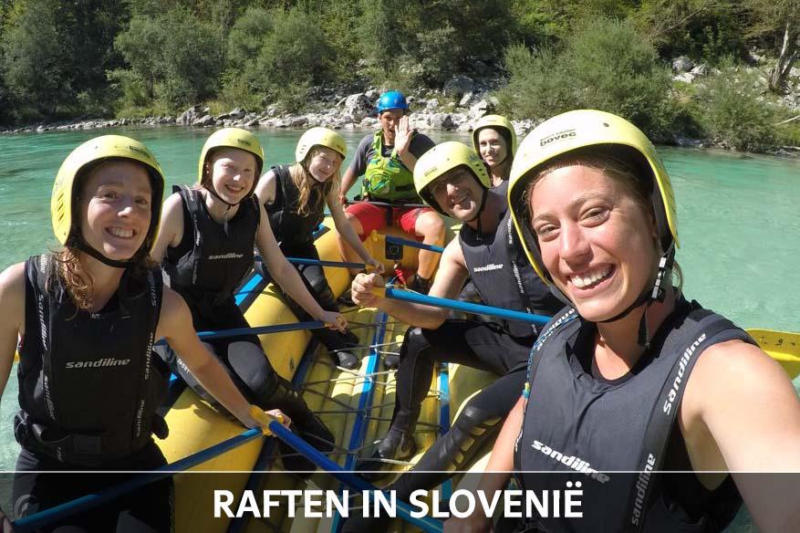 Raften Soca Vallei Slovenie thumb