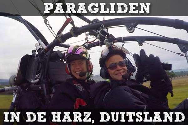 Paragliden in de Harz