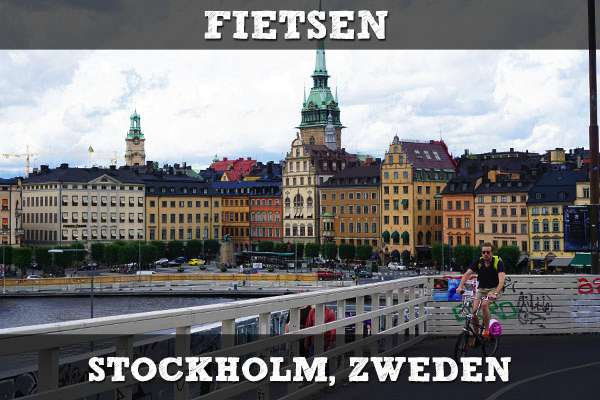 Fietsen in Stockholm