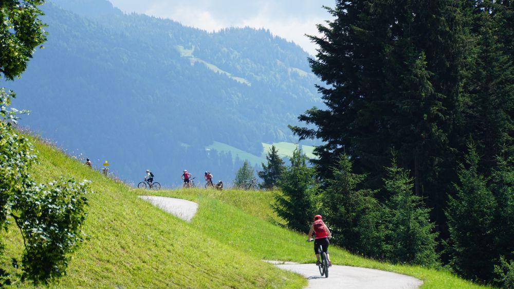 e-mountainbike tocht Oostenrijkse Alpen