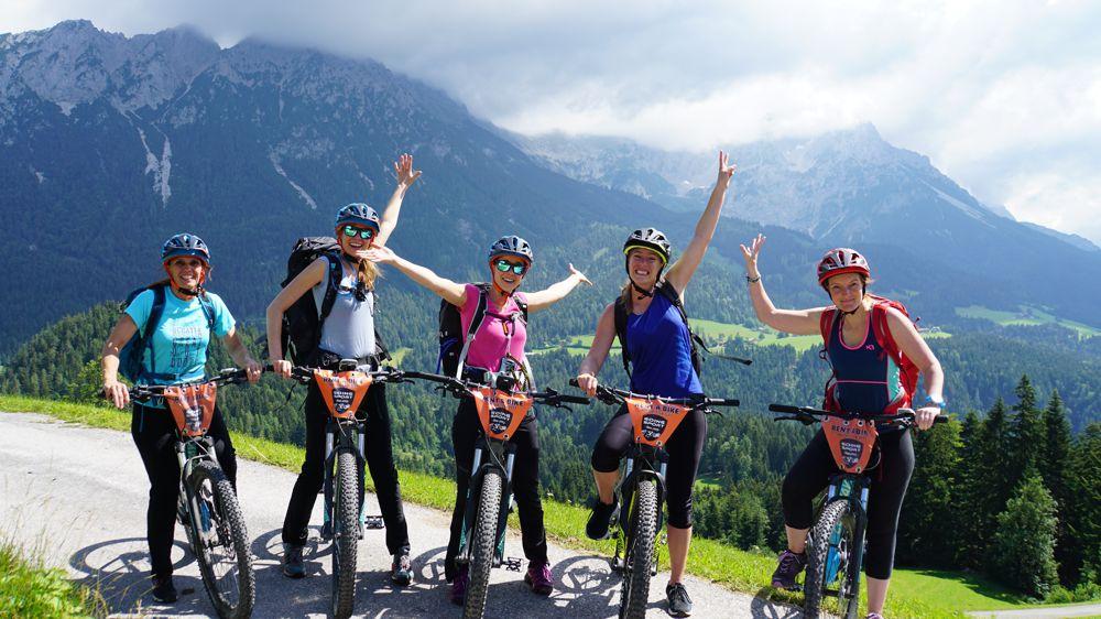 e-mountainbike tocht Oostenrijkse Alpen 039