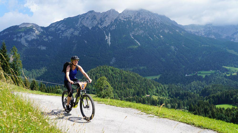e-mountainbike tocht Oostenrijkse Alpen 050