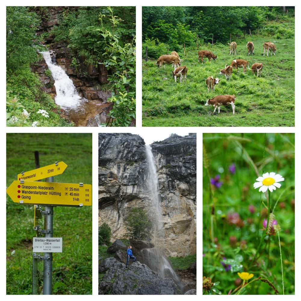 Schleier Wasserfall Ellmau